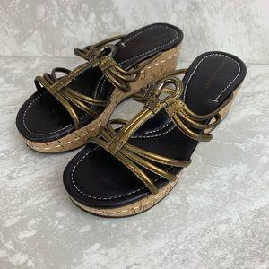 Donald J Pliner Strappy Platform Sandals Sabir